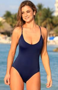Swashbuckling Navy One Piece Swimsuit