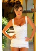 Cultivated White Tankini