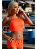 Smart Orange Bikini Shorts