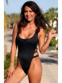 Impressive Black One Piece Swimsuit