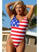 Tempting American Flag One Piece