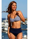Delicious Stripes Print Bikini