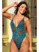 Sleek Customary One Piece Swimsuit