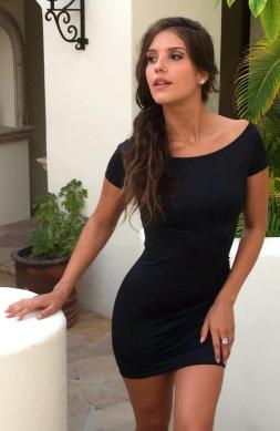 Tantalizing Black Dress