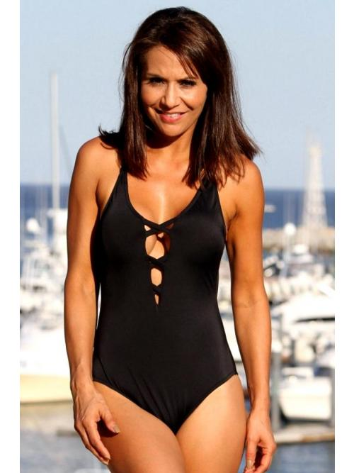 Swank Graceful One Piece Swimsuit