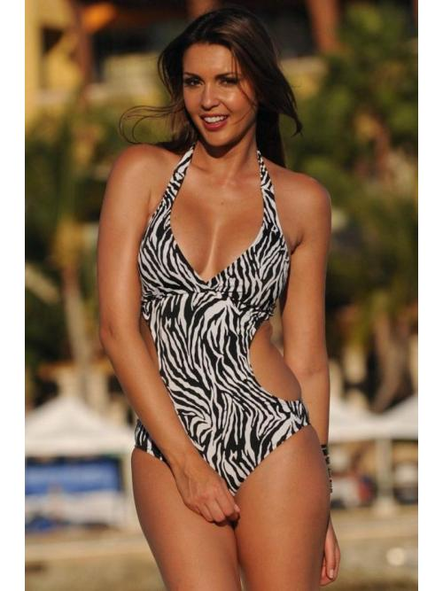 Awe-Inspiring Cut-out One Piece Swimsuit