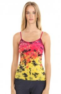 Two Color Tie Dye Camisole