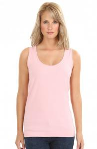 Relaxed Fit Seamless Ribbed Tank Top