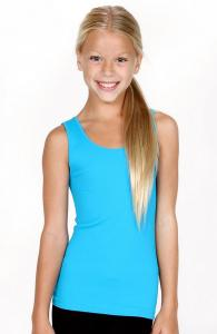 Kids Ribbed Seamless Tank Top