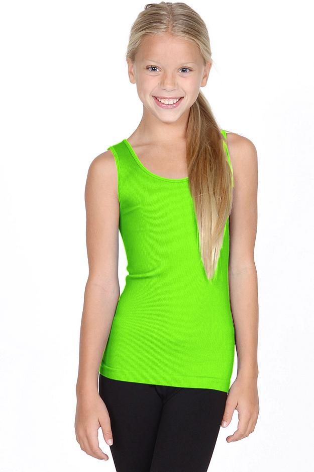 Kids Ribbed Seamless Tank Top - Kids Clothes - Lionella Fashion