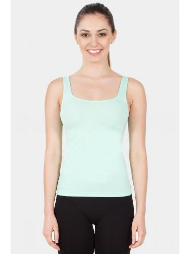 Seamless Scoop Neck Tank Top -Lavender-One Size Fits Most