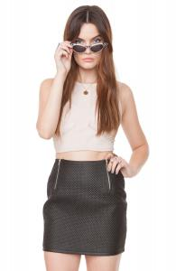 Quilted Fever Skirt