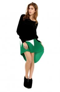 Green Light Dance Queen Skirt