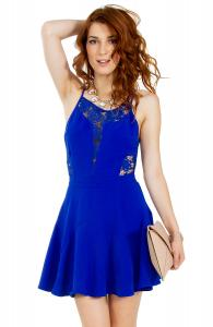 Blue Love Dress