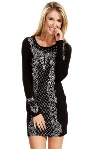 Baroque Sweater Dress
