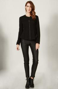 Sleek Peplum Jacket