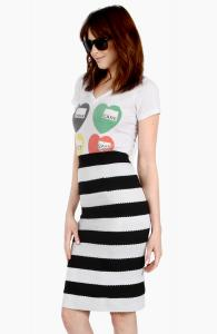 Jailhouse Pencil Skirt