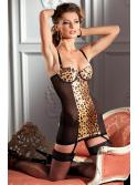Animal Print Cami Suspender