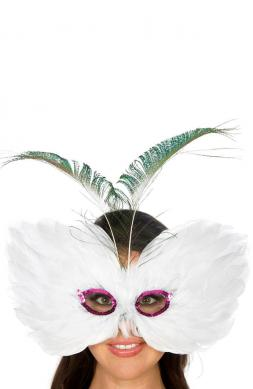 Debonair Feather mask