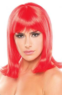 Doll Wig Red