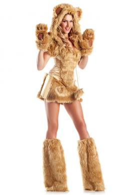 Golden Bear Costume