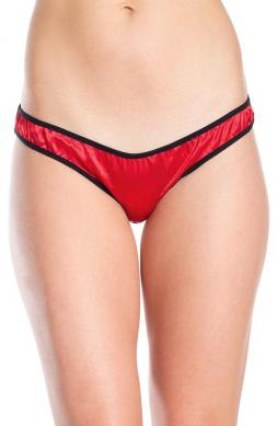 Perky Crotchless briefs in