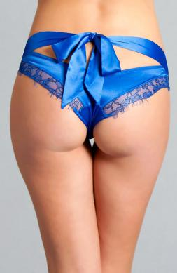 Chloe Royal Blue Bow Panty
