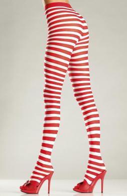Pantyhose Candy Cane