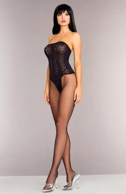 Opaque Strapless Body stocking
