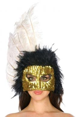 Feather Headdress mask