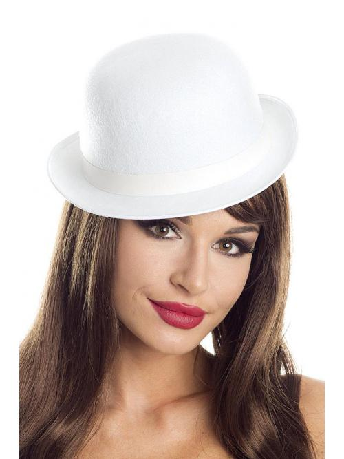 Felt Derby hat White