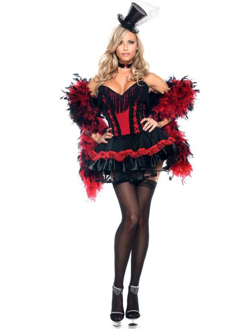 Speak Easy Saloon Girl Costume