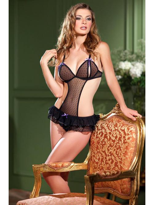 Perfect 1 Piece mesh Teddy with