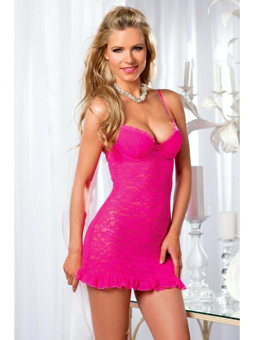 Mystical 2 Piece Underwire Cup Chemise