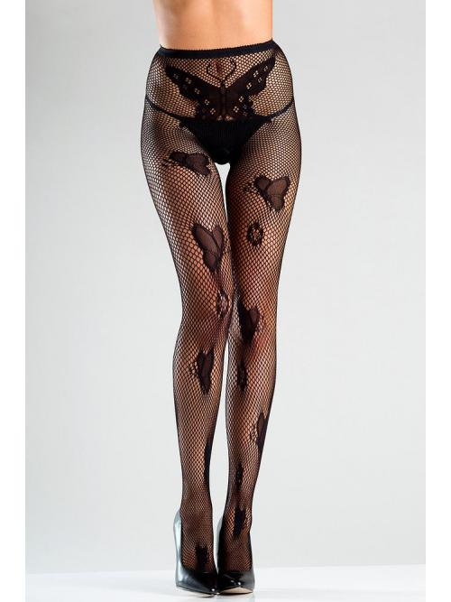 Crotchless Fishnet tights