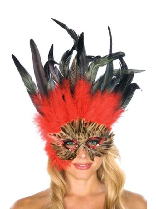 Savory Feather mask