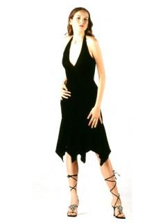 Halter Lace Short Dress, fitted short dress